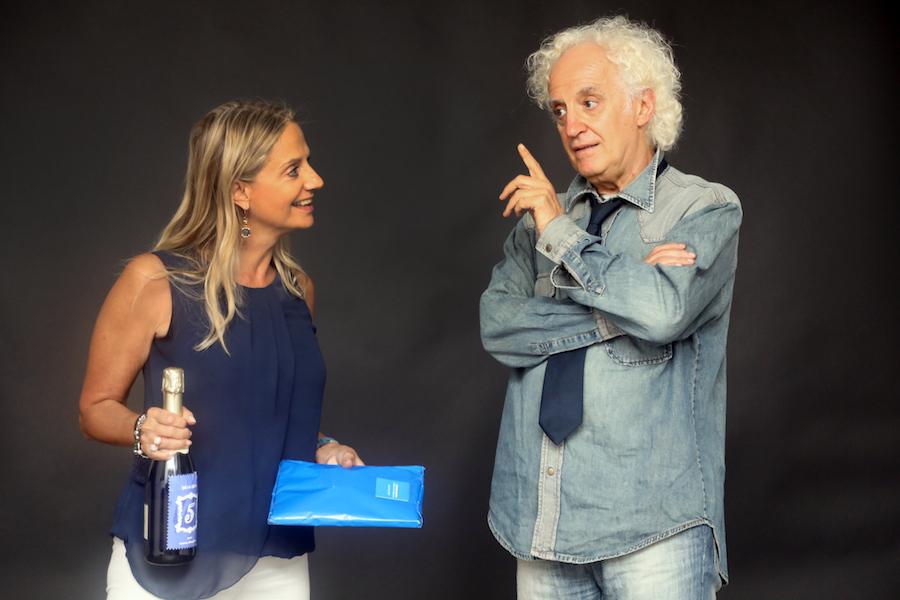 Fabiola Cinque e Lamberto Cantoni