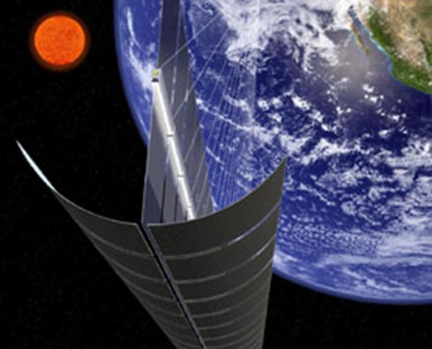 L'energia solare si raccoglie dallo spazio. Space Solar Power System (SPSS)