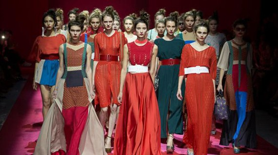 Volvo Fashion Week Moscow SS 2013