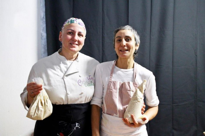 Pina Siotto & Beatrice Calia: sensi all'opera in cucina