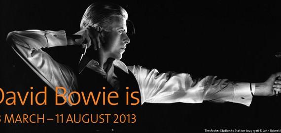 Tutti a Londra per la mostra un pò concerto ed  un pò show di David Bowie
