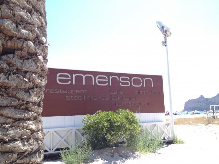 Emerson: un buon ristorante nel cuore del Poetto