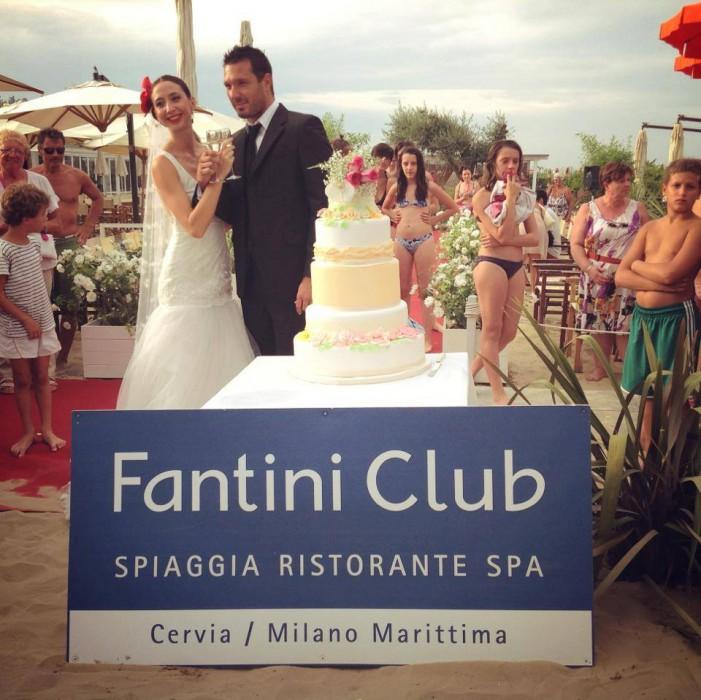 Wedding day al Fantini club di Cervia