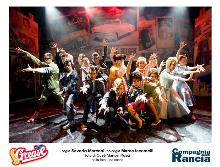 Grease, a tutta brillantina al Teatro Europauditorium