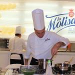 La Molisana sbarca a Milano.Tre Chef PRESSO i Corsi di Cucina Solidale.