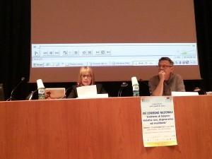 Lucia Marotta durante VIII Convegno Nazionale sulla Sindrome di Sjögren - Verona, 15 novembre 2013