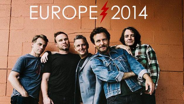 Pearl Jam, da oggi in vendita i biglietti per le date Italiane