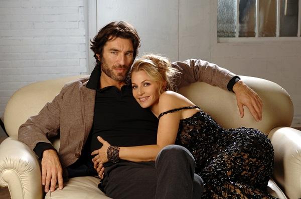 Brando Giorgi con la moglie Daniela Battizzocco