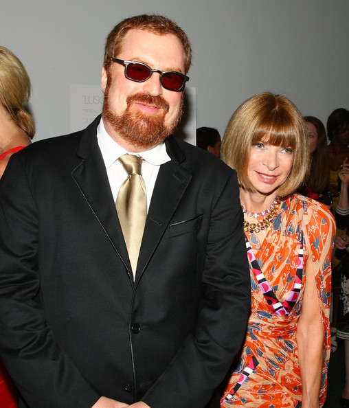 R.J. Cutler e Anne Wintour a New York durante l'anteprima del film The September Issue a The Museum of Modern Art di New York - 19 August 2009