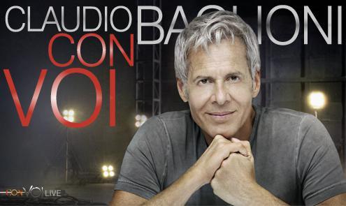Claudio Baglioni in ConVoiLive Tour