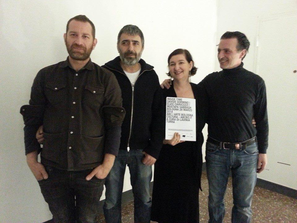 Mustafa Sabbagh, Davide Dormino ed Elvio Chiricozzi e Lavinia Turra