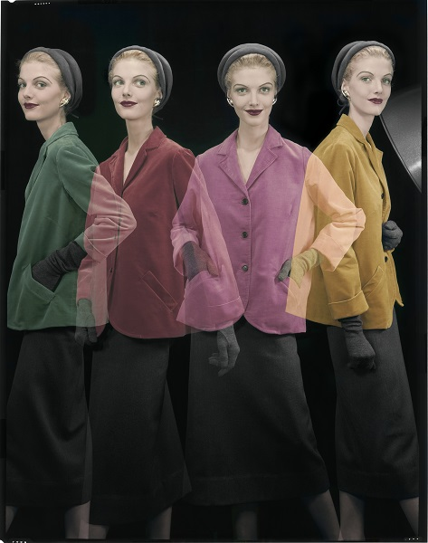 A shake in young fashion Vogue US August 1953 ©The Estate of Erwin Blumenfeld