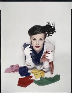 Lilian Marcusson Vogue US January 1951 ©The Estate of Erwin Blumenfeld