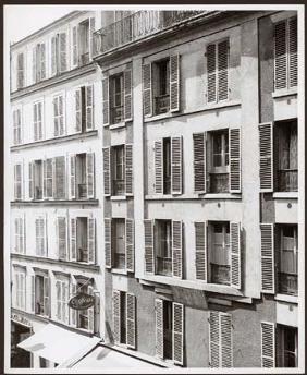 Fenêtres Paris 1949 vintage