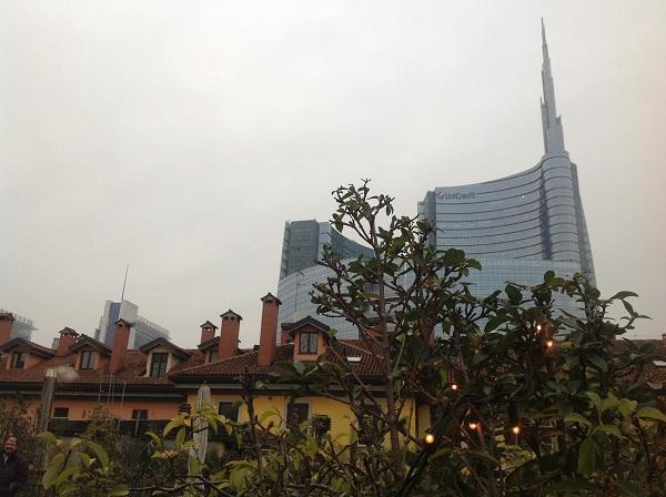 La nuova Milano dalla terrazza di 10 Corso Como