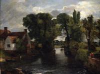 John Constable - Il canale presso il mulino