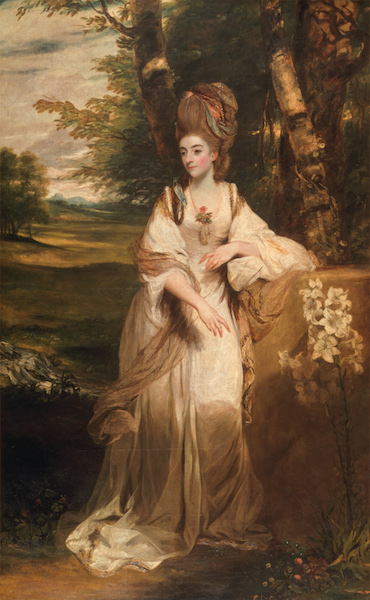 Joshua Reynolds - Lady Bampfylde Hogarth Reynolds Turner