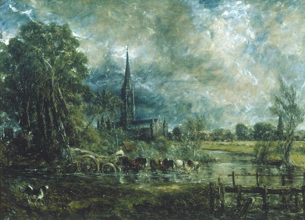 John Constable - La cattedrale di Salisbury Hogarth Reynolds Turner