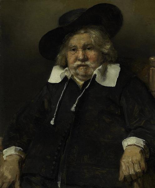 Rembrandt van Rijn - Ritratto di uomo anziano