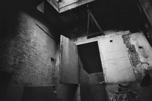 David Lynch, Untitled (Lodz), 2000 - Archival gelatin-silver print, 11 x 14 inches - © Collection of the artist