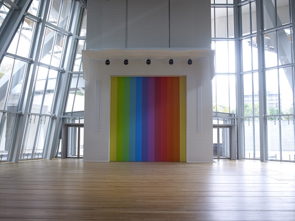 Ellsworth Kelly - Spectrum VIII ©Ellsworth Kelly ©Fondation Louis Vuitton Marc Domage