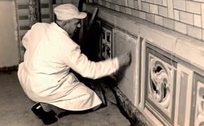 I lavori di restauro degli anni 60 da parte di Ciocchetti