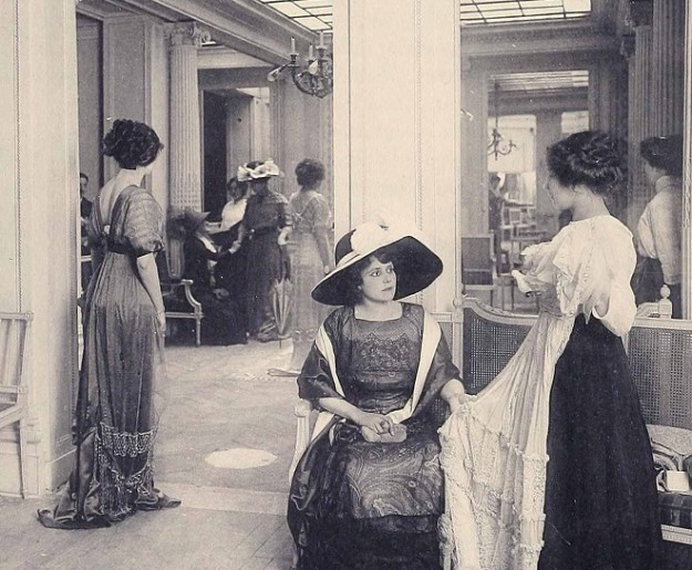 1910 House of Doucet Galerie de vente Paris Fashion