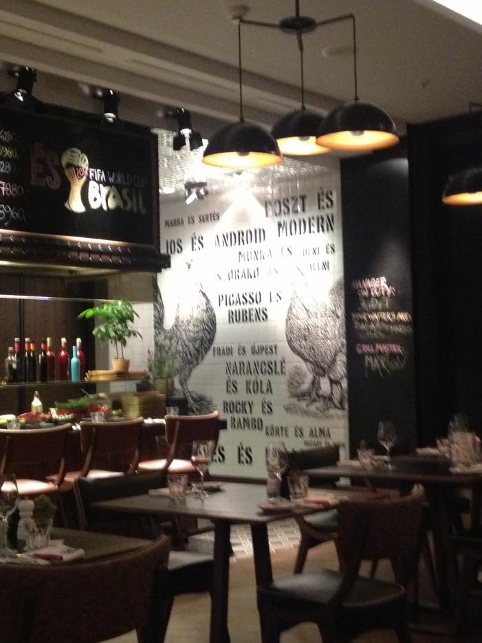 Brasserie ungaro viennese aBudapest