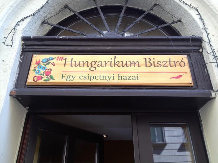 Ultimo giro gastronomico all'Hungarikum Biztrot