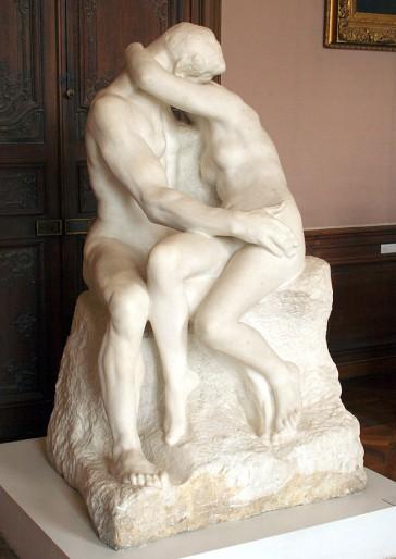 Auguste Rodin, Il bacio, 1888 (Musée Rodin, Parigi)