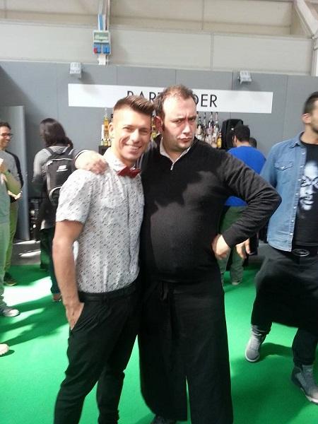 Alessandro Romoli e Bruno Vanzan