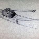 """Biennale 2015. La gondola """"Armata"""" di Cristiano Carotti, invade la laguna"""