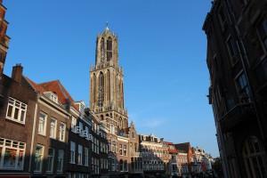 Un'immagine suggestiva del Duomo di Utrecht