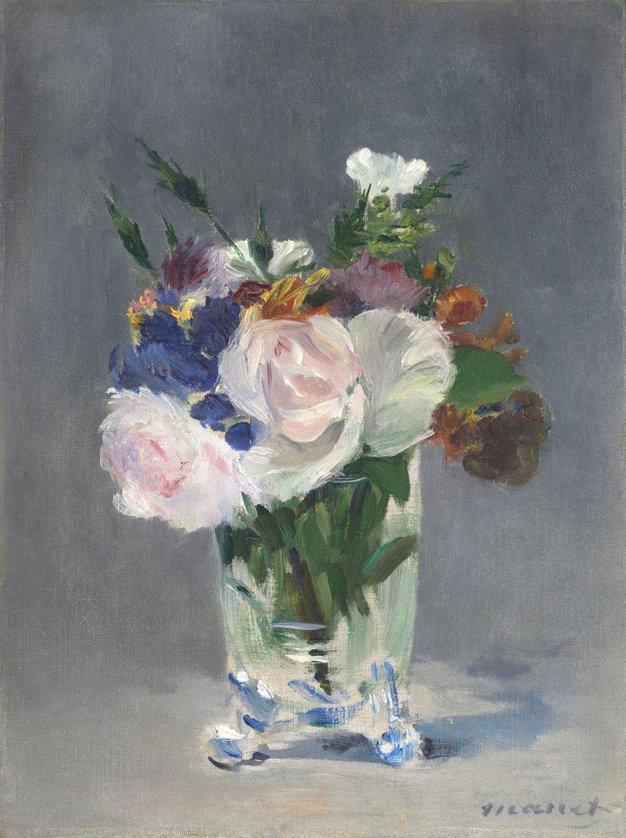 fiori nell'arte