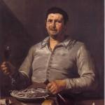 1 - Jusepe de Ribera, Allegoria del gusto, Hartford, Wadsworth Atheneum Museum of Art il vino nell'arte