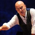 Claudio Bisio a Bologna con Father and son.