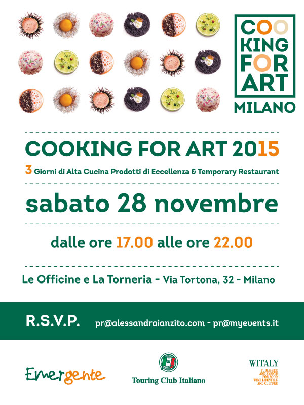 A Milano Cooking for Art !