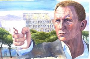 Discover Rome illustrazione di Lapo Sagramoso