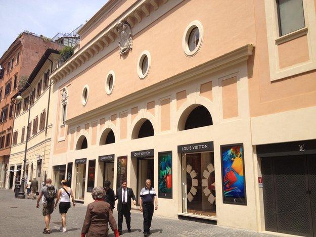 palazzo Louis Vuitton foto Mywhere