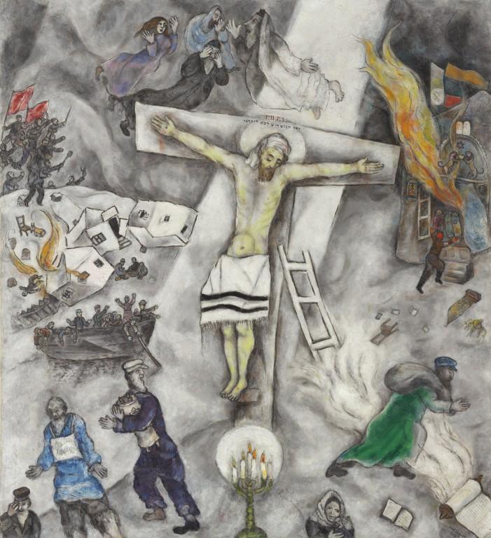 Il Papa ammira Chagall a Firenze