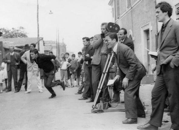 Riprese del film Accattone - 1961