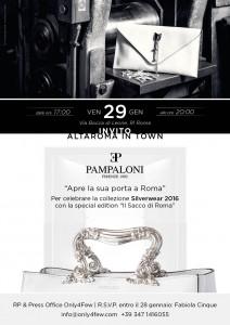 Pampaloni Invito Altaroma Invito