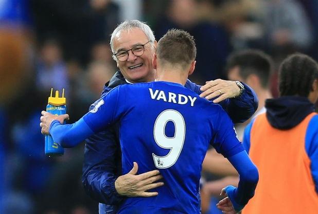 Jamie Vardy e Claudio Ranieri, i protagonisti della favola Leicester