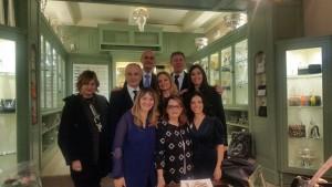 Familia Anatriello e Pampaloni - alta moda pampaloni