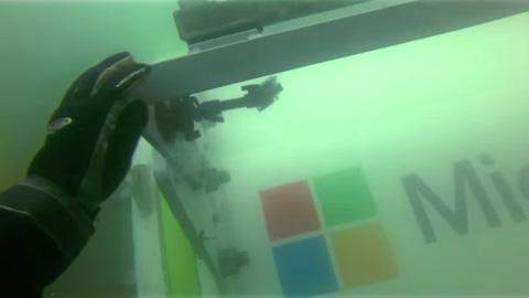 Natick: Microsoft porta i server sui fondali marini