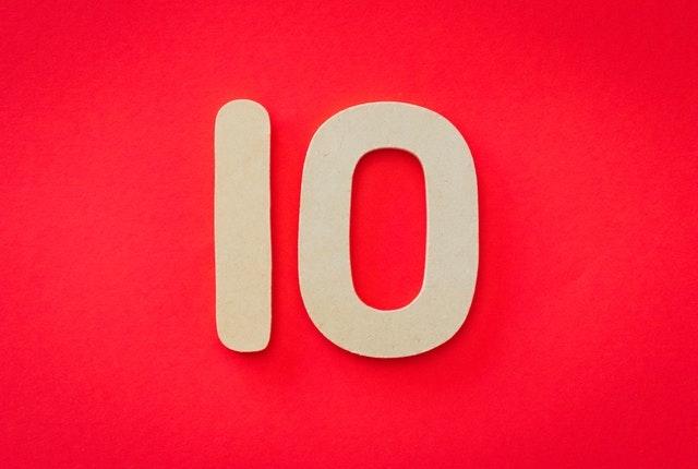 I numeri 10 più forti di sempre