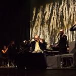 Ieri al concerto di Franco Battiato e Alice