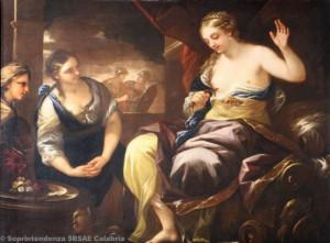 Luca Giordano - Morte di Cleopatra