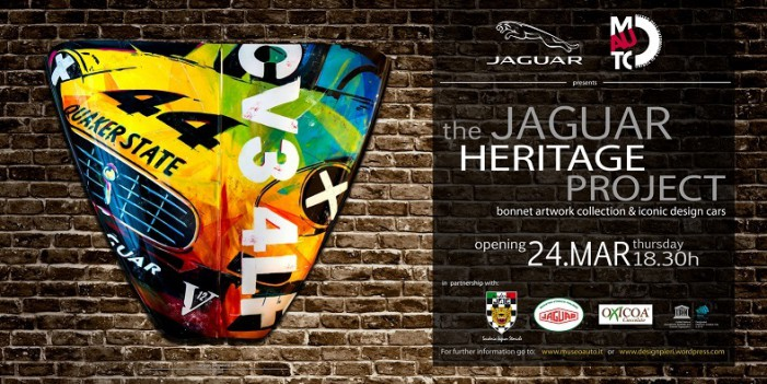 The Jaguar Heritage Project in mostra al Mauto 2016