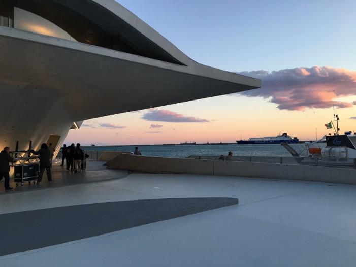Salerno omaggia Zaha Hadid